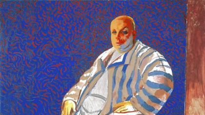 """Divine"" by David Hockney is in ""Ordinary Madness"" at Carnegie Museum of Art."