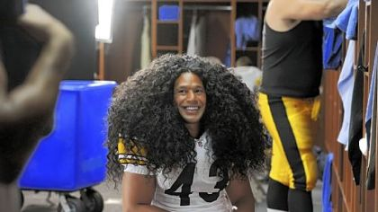 Troy Polamalu's hair ranked fourth nationwide for wig searches on Yahoo.