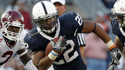 Penn State tailback Evan Royster needs 31 yards to break the school&#039;s career rushing record.