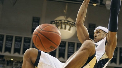 "Pitt guard Gilbert Brown: ""We've played together for two or three years, most of us. Chemistry shouldn't be an issue. We just have to jell like any other team at this time."""