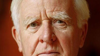 John le Carre (pen name for David Cornwell) in 2008.