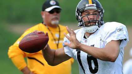 Steelers quarterback Charlie Batch will get his first start of the season Sunday against the Buccaneers.