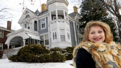 Julia Tomasic of the Carrick-Overbrook Historical Society is trying to save the last great Victorian home in Carrick, at 1425 Brownsville Road, by nominating it for historic status.