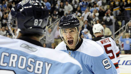 Penguins forward Pascal Dupuis on teammate Sidney Crosby: &quot;We know he&#039;s going to be there, night after night.&quot;