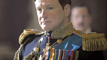 "Colin Firth stars in ""The King's Speech."""