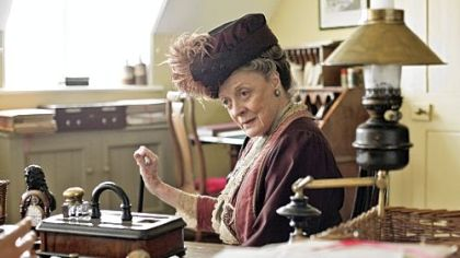Dame Maggie Smith in &quot;Downton Abbey.&quot;