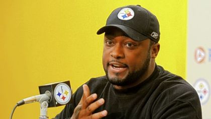 Steelers coach Mike Tomlin on playing in Cleveland Sunday: &quot;Anytime in the National Football League you&#039;re getting on the bus to go play a game, man, that&#039;s a pretty heated rivalry.&quot;