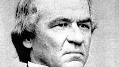 President Andrew Johnson: Not big in the ye olde 'Burgh.