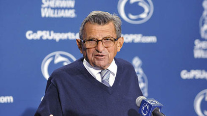 "Penn State coach Joe Paterno on his team's play against Alabama: ""We didn't make many plays Saturday."""
