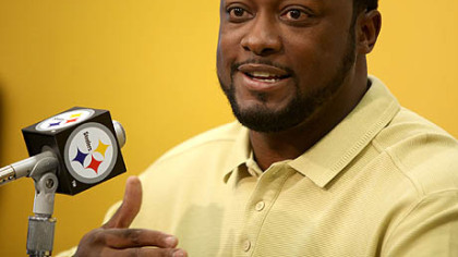 "Steelers coach Mike Tomlin on Rashard Mendenhall potentially scoring a second touchdown Sunday in New Orleans: ""There wasn't a bunch of video evidence available to us, and the guys on the field didn't seem to think it was a challengeable play, so we didn't."""