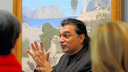 Amir Parsa, director of the Museum of Modern Art&#039;s &quot;Meet Me at MoMA&quot; program for visitors with Alzheimer&#039;s or other dementias, says the museum tours are &quot;a catalyst for conversation that may not occurr in other circumstances.&quot;
