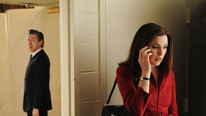 Julianna Margulies in &quot;The Good Wife&quot; on CBS.