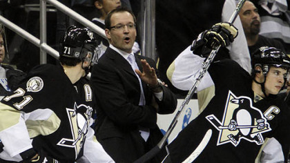 Dan Bylsma has a 72-39-12 record as the Penguins' head coach.