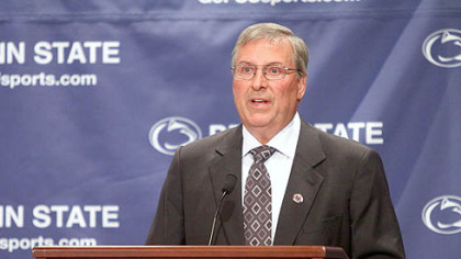 Alumnus Terry Pegula and his wife, Kim, donated $88 million to Penn State to help the school build a hockey arena.