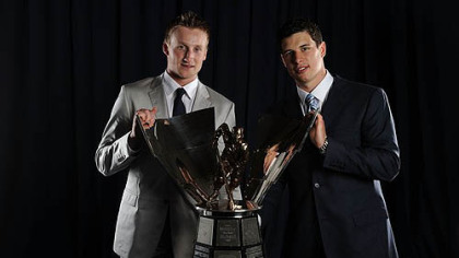 Lightning forward Steven Stamkos shared the Maurice Richard Trophy last season with Penguins captain Sidney Crosby as the NHL's leading goal-scorer. They each scored 51 goals.