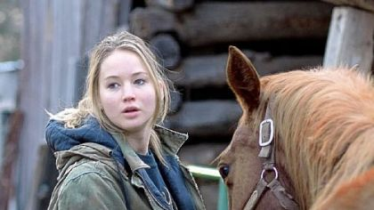 "Jennifer Lawrence stars in ""Winter's Bone."""