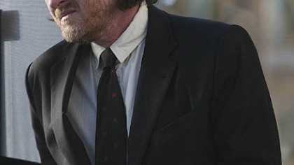 "Donal Logue as Hank Dolworth in ""Terriers"" which airs on Wednesday on FX."