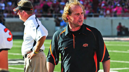 Oklahoma State offensive coordinator Dana Holgorsen had been among the top candidates for Pitt&#039;s job but was confirmed he was not going to be considered for that position.