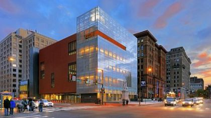 National Museum of American Jewish History at Fifth and Market streets in Philadelphia.