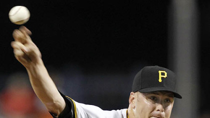 Pirates pitcher Chris Resop