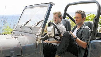 "Scott Caan, left, is Danno and Alex O'Loughlin is McGarrett in CBS's update of ""Hawaii Five-0."""