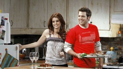 "Joanna Garcia and Jake Lacy are part of the cast of the new NBC sitcom ""Better With You."""