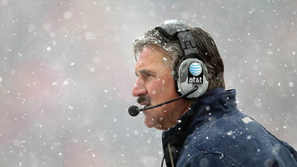 Dave Wannstedt has a 42-31 career record at Pitt.