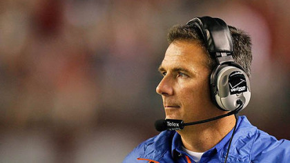 Florida head coach Urban Meyer.