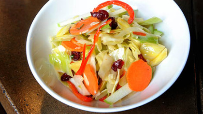 Seasonal Cole Slaw at Brgr.