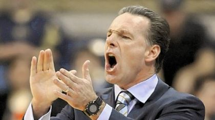 "Pitt coach Jamie Dixon on his team's defense: ""I don't think I've ever been fully satisfied with our defense in December."""