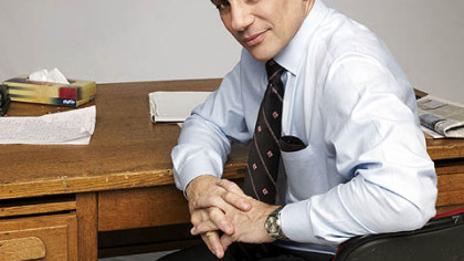 "Tony Danza stars in A&E's docu-series ""Teach."""