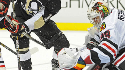 Penguins forward Mike Comrie has been limited to three assists this season.