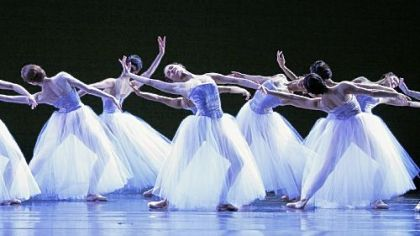 The Joffrey Ballet&#039;s performance of &quot;Pretty BALLET&quot; was the most musical work of the night last Saturday at the Blossom Music Center near Cuyahoga Falls, Ohio,