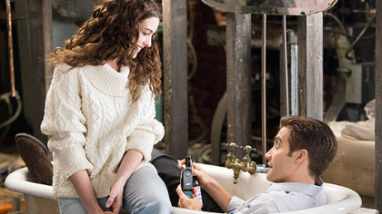 "Anne Hathaway and Jake Gyllenhaal star in ""Love & Other Drugs."""