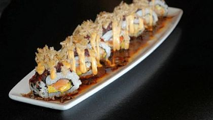Cuban sushi rolls at Seviche on Penn Avenue, Downtown.