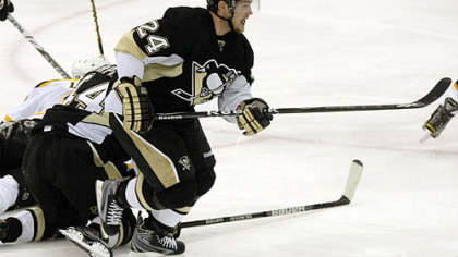 "Penguins left winger Matt Cooke: ""When you're on an opposing team, you often hate guys, but, given a chance to play with them, you get to know them on a personal level and things are a lot different."""