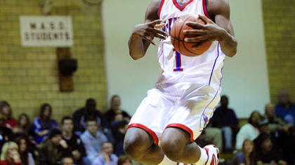 McKeesport&#039;s Branden Jackson -- Thought basketball was his sport.