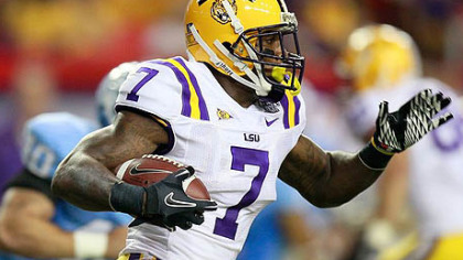 LSU cornerback Patrick Peterson has two interceptions this season.