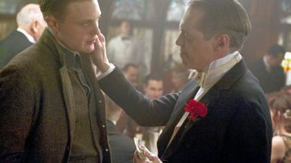 "Michael Pitt and Steve Buscemi star in ""Boardwalk Empire."""