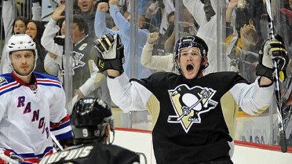 Penguins forward Matt Cooke has scored 11 points this season.
