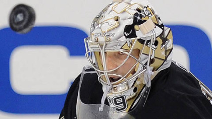 "Penguins goaltender Marc-Andre Fleury on HBO's ""24/7: ""We're allowed to swear, right, in the show?"""