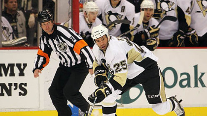 Penguins forward Max Talbot has averaged 3:04 of short-handed ice time per game this season.