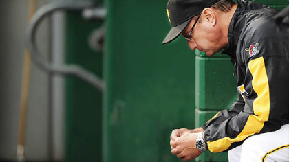 "Pirates manager John Russell: ""I do this because it's what I'm supposed to do."""