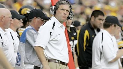 Iowa coach Kirk Ferentz is 7-2 all-time against Penn State.