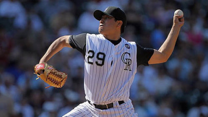 Pitcher Jorge De La Rosa went 8-7 last season with the Rockies.