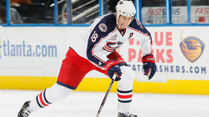 Blue Jackets forward RJ Umberger has 19 points this season.
