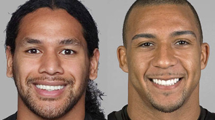 Steelers S Troy Polamalu vs. Buccaneers TE Kellen Winslow