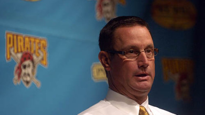 The Pirates today fired manager John Russell.