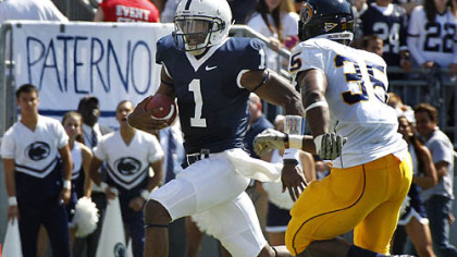 Penn State quarterback Rob Bolden has thrown for 823 yards this season.