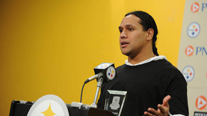 Troy Polamalu was named the Steelers' Most Valuable Player.